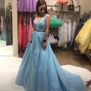 Sherry Hill Pageant gown